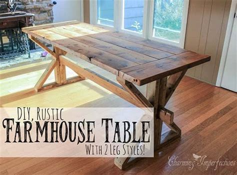 diy farmhouse table plans   rustic dinning room