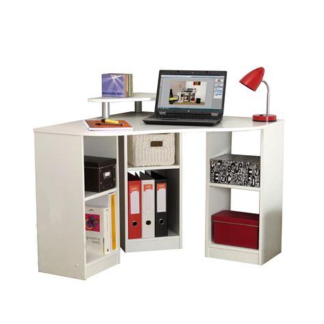 bureau angle informatique bureau d 39 angle blanc comparer les prix avec le guide kibodio