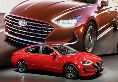 Hyundai Unveils New Sonata Hybrid in Chicago - The Detroit ...