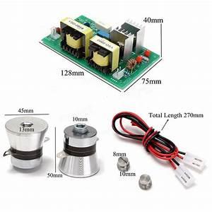 Ac110v Power Driver Board   2pcs 50w 40khz Ultrasonic