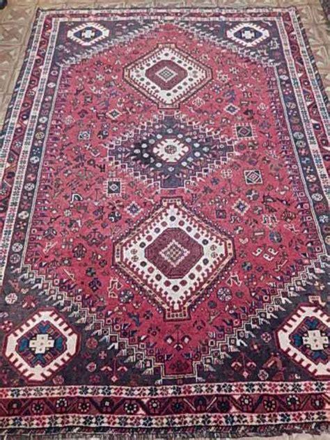 tribal rugs cheap nightingales birds 7x9 shiraz rug handmade tribal