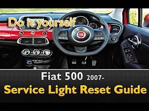 Fiat 500 Service Light Reset Oil Life