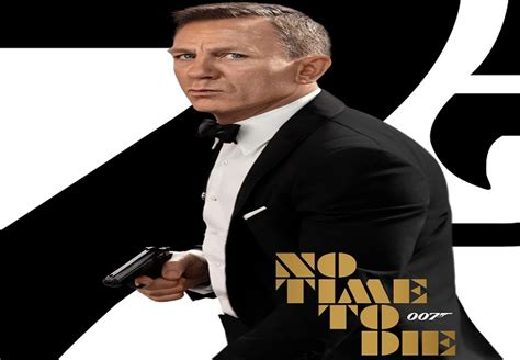 New Poster of 'No Time To Die' features Daniel Craig ...