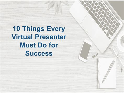 10 Things Every Virtual Presenter Must Do For Success  Cindy Huggett