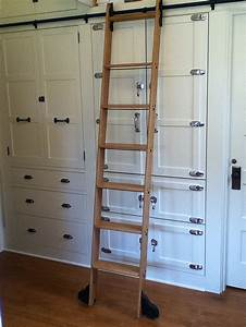 8 Clever Ways To Use A Rolling Library Ladder All Over The