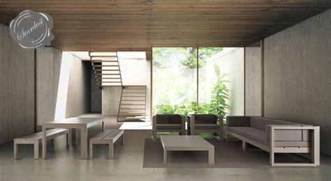 Modern Interior Courtyard, Patio And Pool Furniture Design
