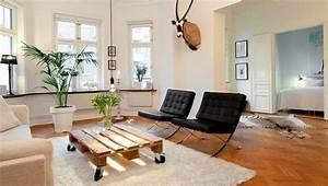 Rohe Wände Streichen : palettenm bel selber bauen 28 kreative ideen inspirationen ~ Orissabook.com Haus und Dekorationen