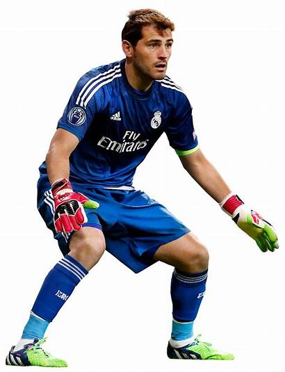 Casillas Iker Render Football Porto Goalkeeper Background