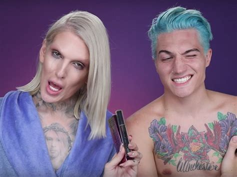 Jeffree Star Tests Makeup With Oral Sex