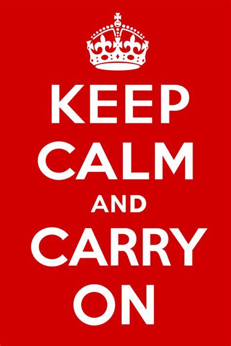 filekeep calm  carry  postersvg wikimedia commons