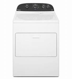 Whirlpool Wed4850bw 29 U0026quot  Electric Dryer With 7 0 Cu  Ft