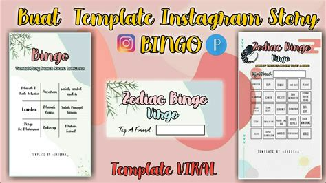 Instagram story templates valentine's day bingo galentine's day she the spy shethespy aesthetic. Cara Membuat Template Instagram Story Bingo   Tutorial Pixellab - YouTube