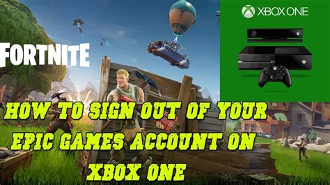 How To Sign Out Of Your Epic Games Account On