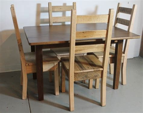 Hand Made 100% Oak Chairs From Reclaimed Barn Wood By