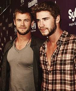 Hemsworth Brothers | the famous and the charming | Pinterest
