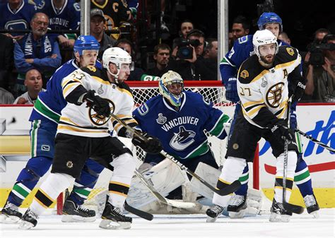 Boston Bruins V Vancouver Canucks  Game Two » Strategy