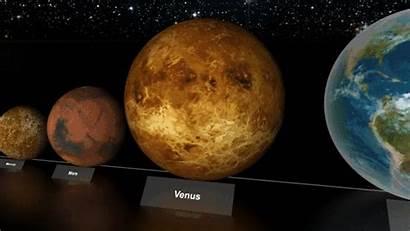 Planet Star Animated Comparison Planets Pistol Pianeti
