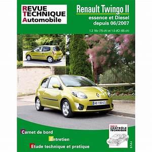 Entretien Twingo 2 : revue technique renault twingo ii depuis 06 2007 rta site officiel etai ~ Gottalentnigeria.com Avis de Voitures