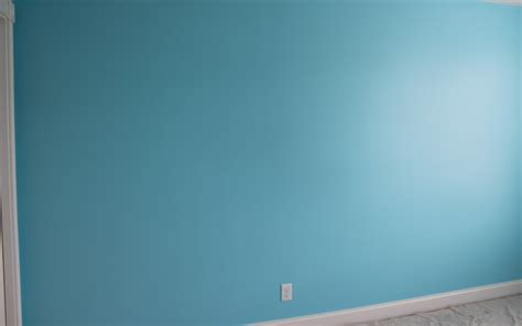 blue wall paint diy painting stripes on walls frugal fanatic