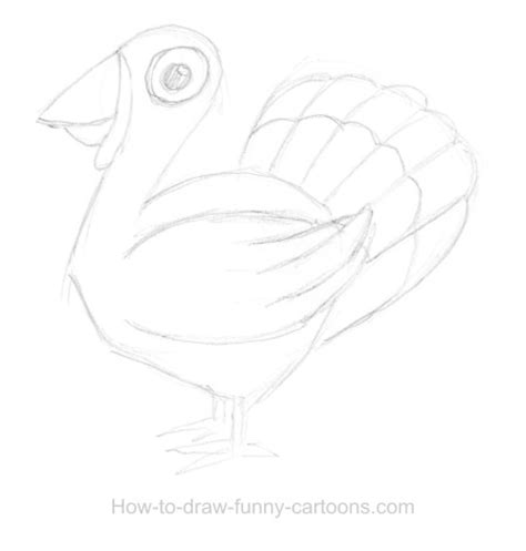 turkey drawing sketching vector