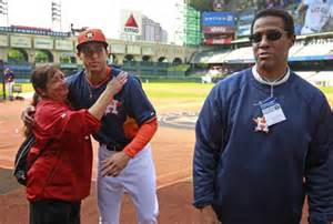 party rentals houston george springer visits with his springer