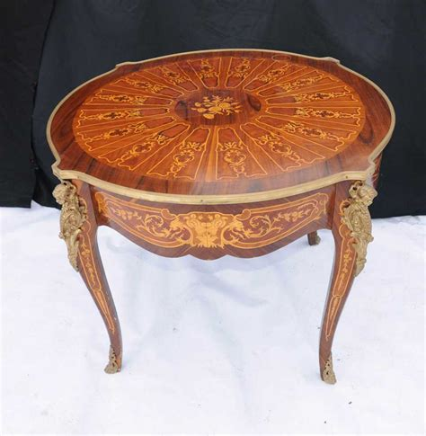 french empire inlay centre table  dining tables