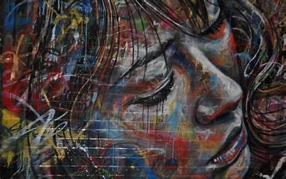 Wallpapers Graffiti Woman Female Artistic Artwork Profil
