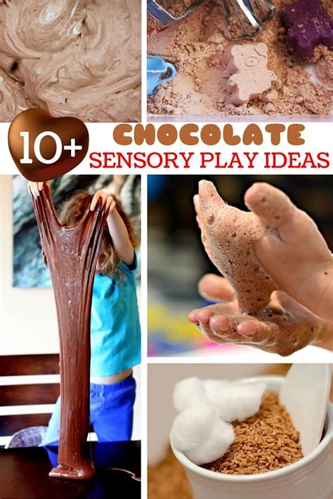 10+ Chocolate Sensory Play Ideas ⋆ Sugar, Spice And Glitter