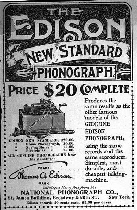 The Edison Standard Cylinder Phonograph
