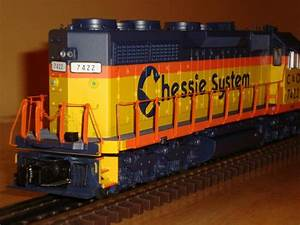 Mth Ps3 Chessie System Sd35  20
