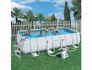 piscine bestway tubulaire rectangulaire 549x274x122 56256 With piscine bestway tubulaire rectangulaire