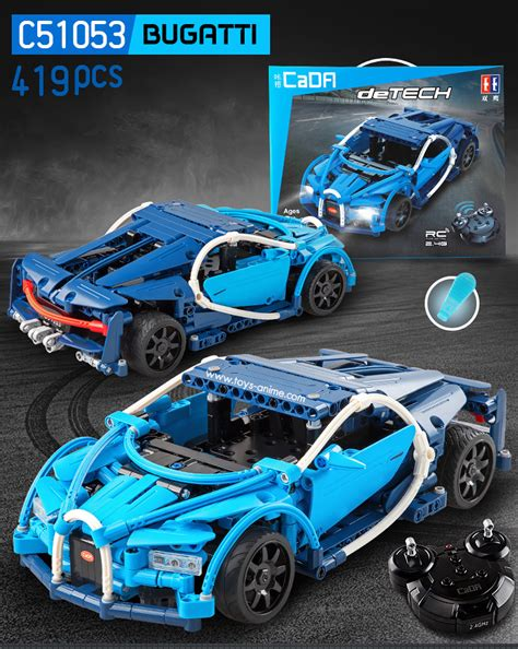 Lego technic 42083 bugatti chiron: CaDa Technic RC ตัวต่อรถบังคับบูกาติ Bugatti Chiron - Toys-Anime.com