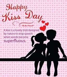 National Girlfr... Kiss Day Romantic Quotes