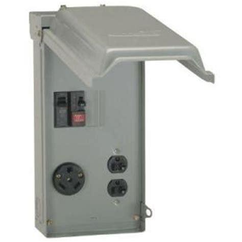 ge  amp power outlet box  duplex  amp gfci outlet