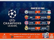 Cuartos de Final Champions League 2018 Manchester vs