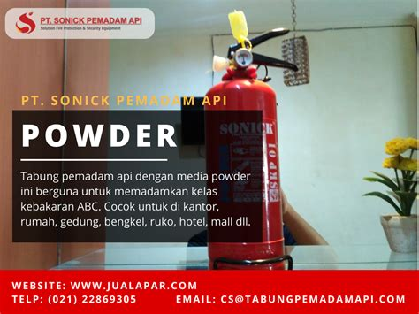 jual alat pemadam api chemical powder class abc