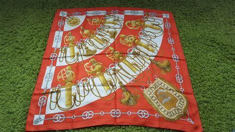 hermes scarf vintage catawiki
