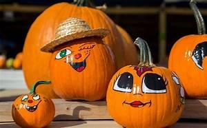Halloween Kürbis Bemalen : die besten 25 k rbis bemalen ideen auf pinterest halloween laterne basteln k rbis ~ Eleganceandgraceweddings.com Haus und Dekorationen
