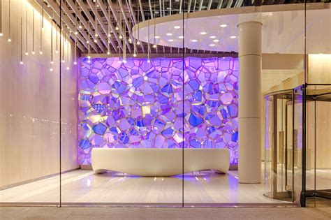 One State Street Lobby Illuminated Feature Wall ...