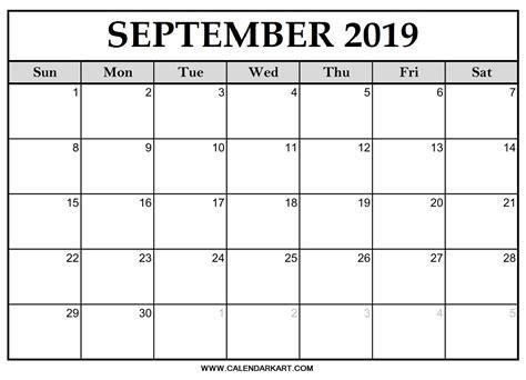 editable september  calendar template calendar kart