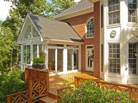 inviting porches balconies  sunrooms diy