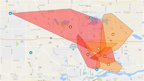 update power restored  outage hits   elkhart