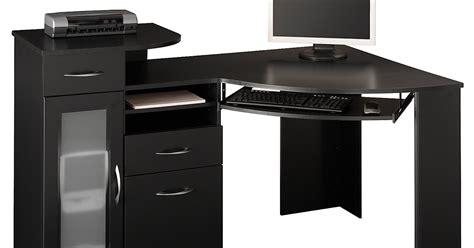 Black Wood Corner Computer Desk by Black Desk Black Corner Desk