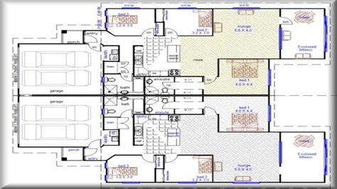 best one floor plans one duplex house plans duplex house plans designs