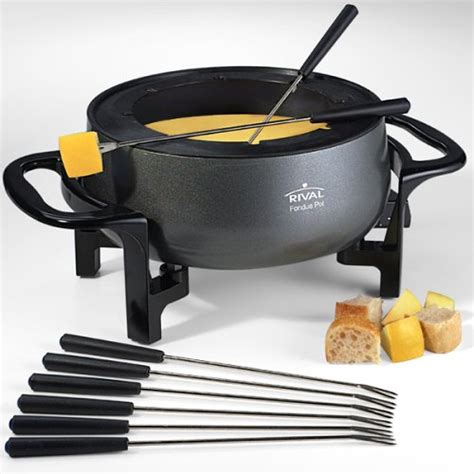 rival fd300d 3 quart fondue pot 35 95