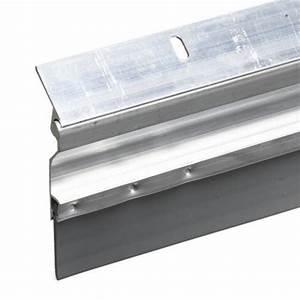Automatic Aluminum And Vinyl Door Sweep  2 U0026quot  X 36 U0026quot   Low