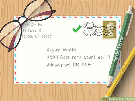 how much to mail a letter 2 the easiest way to send a letter in the mail wikihow 46209