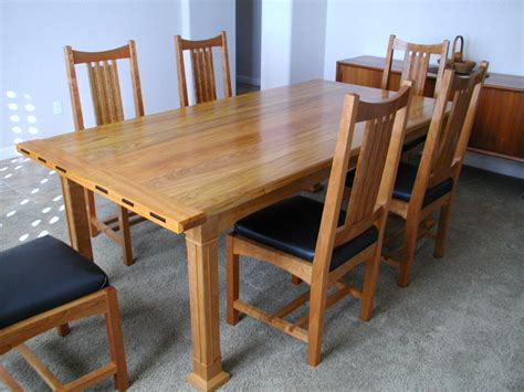arts and crafts dining table arts crafts dining table finewoodworking