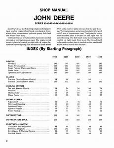John Deere 4850 Wiring Diagram Free Download