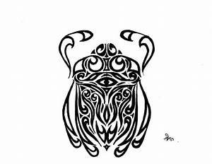 Scarab Beetle Tattoo by Graphitestreak on DeviantArt